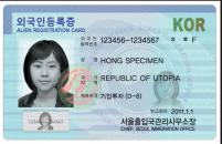 Các loại thẻ bạn phải có khi sống ở Hàn Quốc
